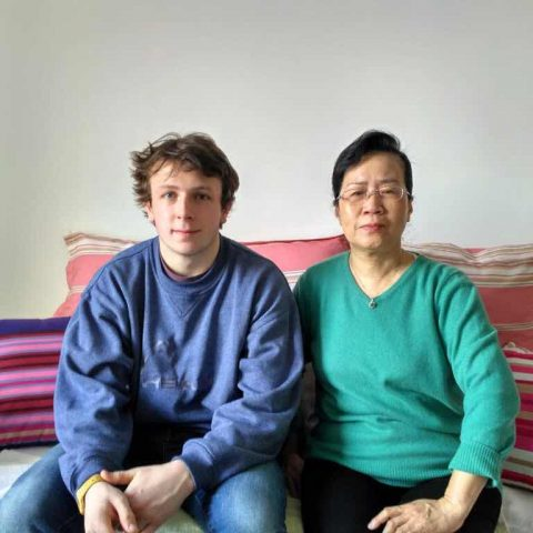 William med sin værtsfamiliemor fk. Su - Beijing