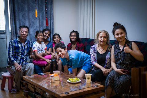 Sjov i Beijing hos en privat værtsfamilie