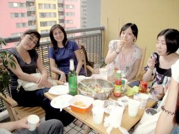 Time to share lunch at LTL Shanghai