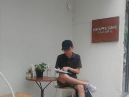 Teacher Eric - Preparing for Chinese Class in Chengde