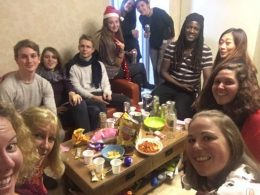 Students' Christmas Evening