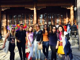 LTL Beijing students exploring China