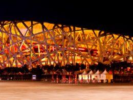Birds Nest Stadion i Beijing