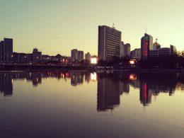 Solnedgangen i Chengde