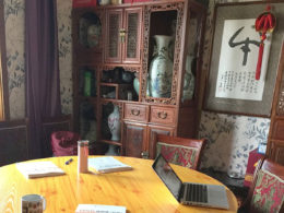 Time for a Chinese lesson in Chengde