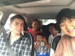 Day trip with the homestay and LTL staff
