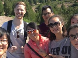 LTL students and staff join forces for a day out