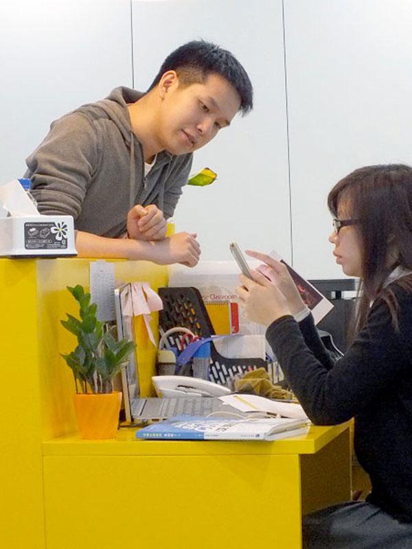 Kinesiskundervisere i Shanghai