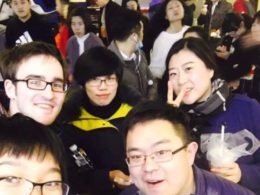 Having fun in Chengde