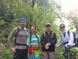 Trekking through Chengde