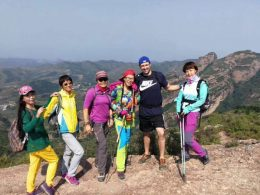 Time for a hike in Chengde