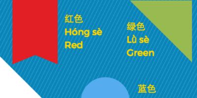 Guide til de kinesiske farver