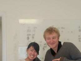 Student Charles studying Chinese in Beijing