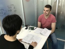 Chinese Lesson time in Shanghai