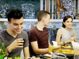 Dinner time in Shanghai