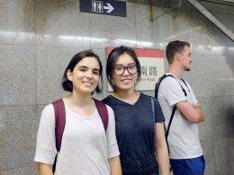 Taking the Metro in Shanghai