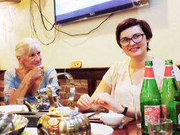 Wednesday night dinner in Shanghai