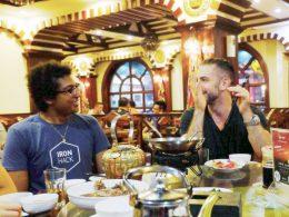 Dinner, drinks and good company for LTL Shanghai