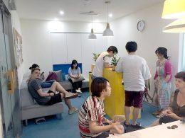 Lunchtime at LTL Shanghai