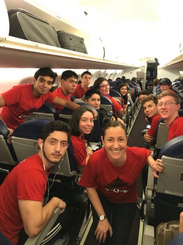 På vej til LTL Beijing - Mexikanske studerende er klar til eventyr