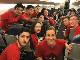 On the way to LTL Beijing - Mexican students ready for their adventure
