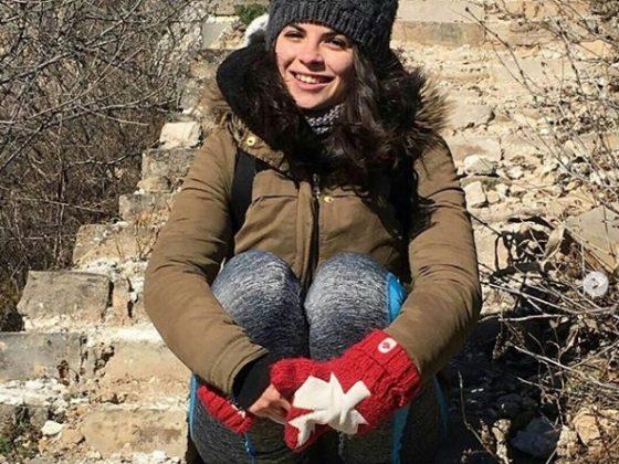 Sara på Den Kinesiske Mur