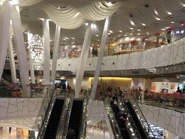 Shopping malls in Shanghai are rather big