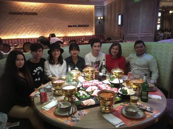 Homestay Dinner in Shanghai