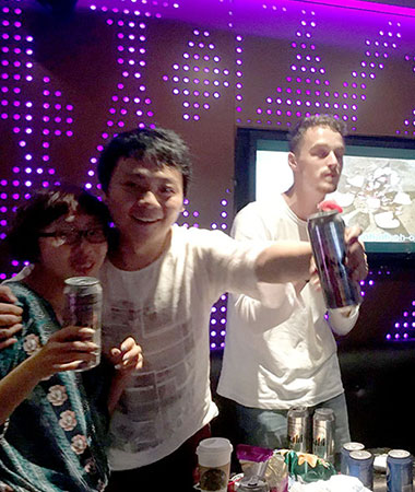 Karaoke TV med LTL Kinesisk Sprogskole