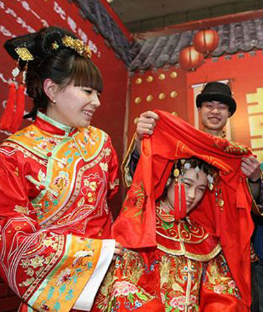 Tur til ægteskabsmarkedet i Shanghai med LTL Kinesisk Sprogskole