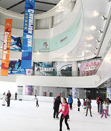 Tur til skøjtebanen med LTL Kinesisk Sprogskole