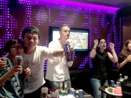KTV time for our Shanghai students
